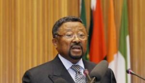 Hình: Reuters Chủ tịch Liên hiệp Phi Châu Jean Ping
