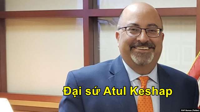 Đại sứ Atul Keshap.